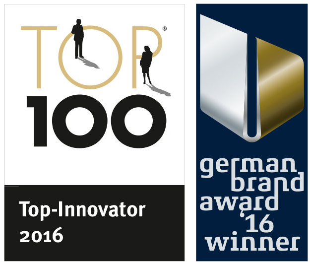 Award Top 100 und German Brand Award